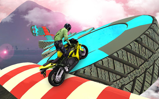 Bike Impossible Tracks Race: 3D Motorcycle Stunts 2.0.5 6
