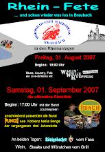 Photo: Unser Werbeplakat 2007