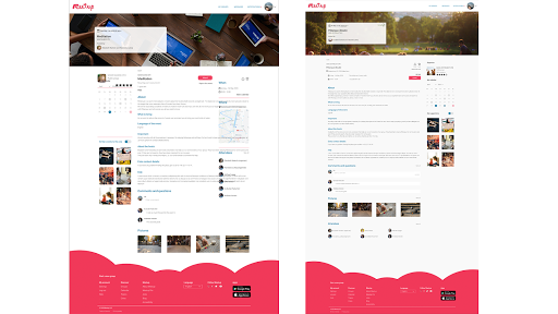 Meetup Redesign preview