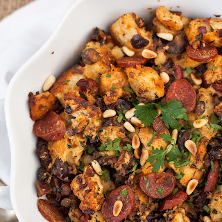 Herb, Chorizo and Fig Stuffing