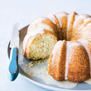 Poppy Seed Bundt Cake with Clementine Glaze
