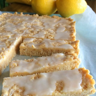 Low Calorie Lemon Coconut Slice