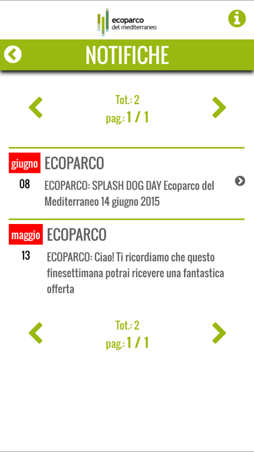 Ecoparco- screenshot