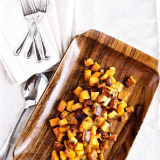 Maple Roasted Butternut Squash with Thyme