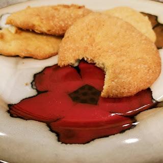 Vegan Pineapple Cookies.