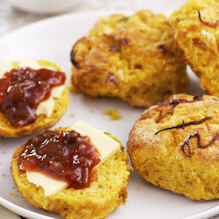 Squash and Caramelized Onion Scones