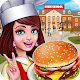High School Café Girl: Burger Serving Cooking Game