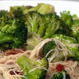 Angel Hair Pasta with Broccoli