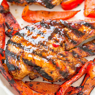 Sweet Chili Grilled Chicken.