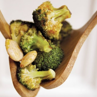 Food52'S Roasted Broccoli with Smoked Paprika Vinaigrette and Marcona Almonds Recipe