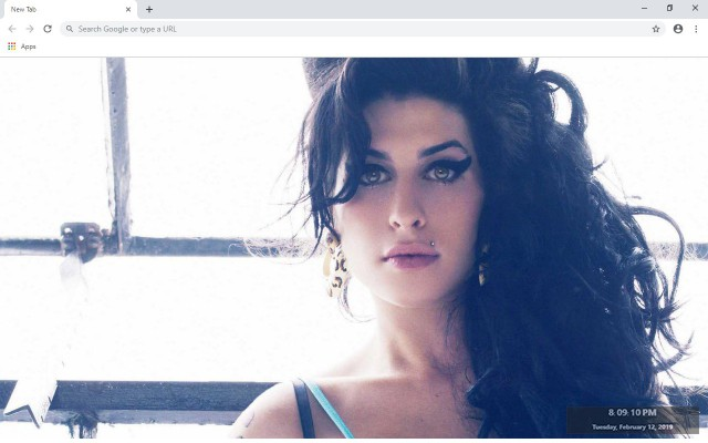 Amy Winehouse New Tab & Wallpapers Collection