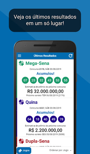 Loterias Mega Sena screenshot 1