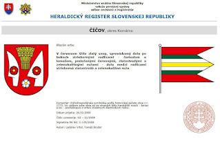 Photo: Csicsó címerének, zászlójának regisztrálása 2008. március 26-án