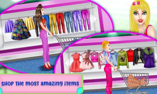 Shopping Mall For Rich Girls: Supermarket Cashier  screenshots 16
