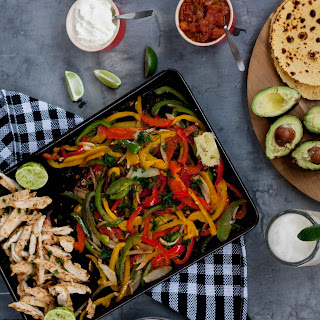 Fast & Easy Chicken Fajitas.
