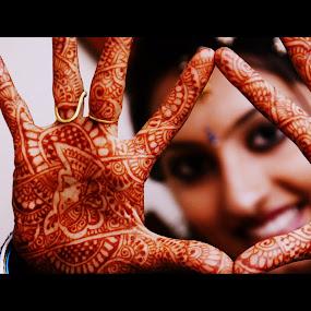 Indian Bride - A Handicraft by Praneeth Sukuru - Wedding Bride