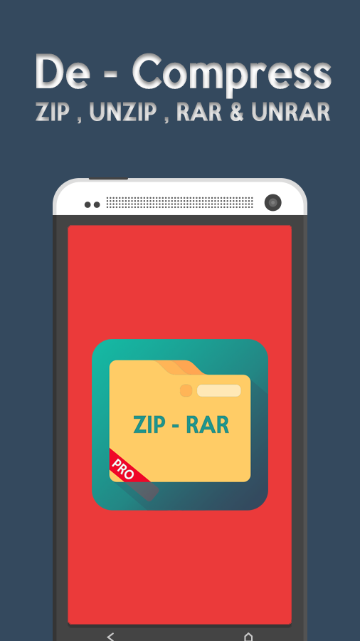 zip & rar extractor- screenshot
