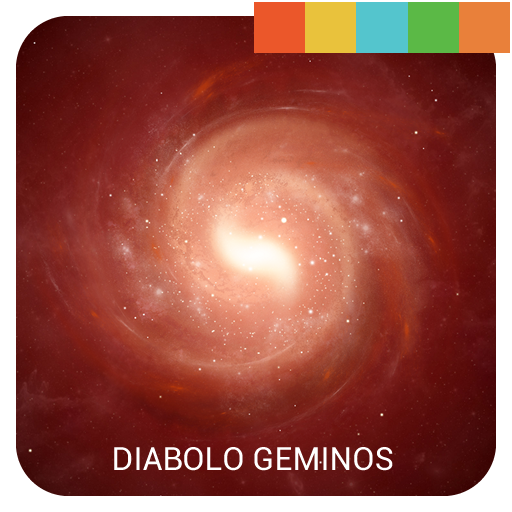 Diabolo Geminos Galaxy Theme