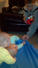 Photo: Baby play time after we were done