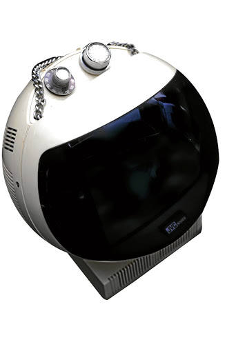 JVC Videosphere space helmet TV