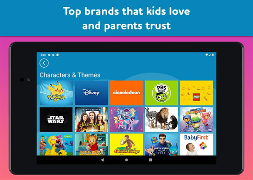 Amazon FreeTime Unlimited: Kids Shows, Games, More 2.0.0.203376 screenshots 20