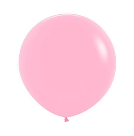 Ballong, jumbo rosa 90 cm 1 st