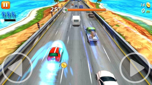 On the Road – Street Car Racing | Dodge Traffic - screenshot