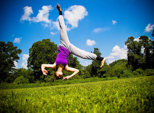 Flipping Out by Meaghan Browning - Sports & Fitness Other Sports ( field, balance, girl, tumble, air, flip )