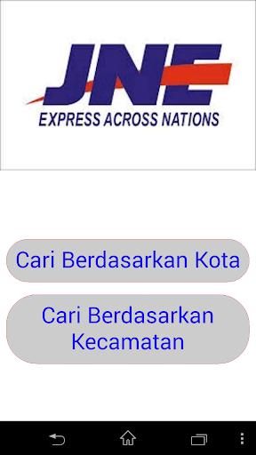 Tarif JNE Kota Semarang 2015