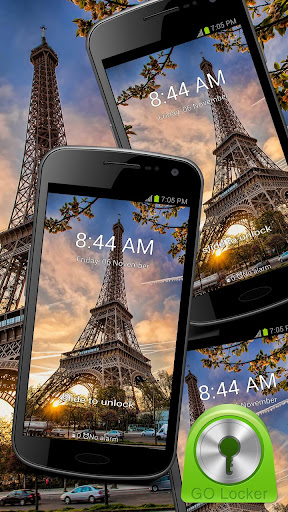Eiffel Tower - GO Locker Theme