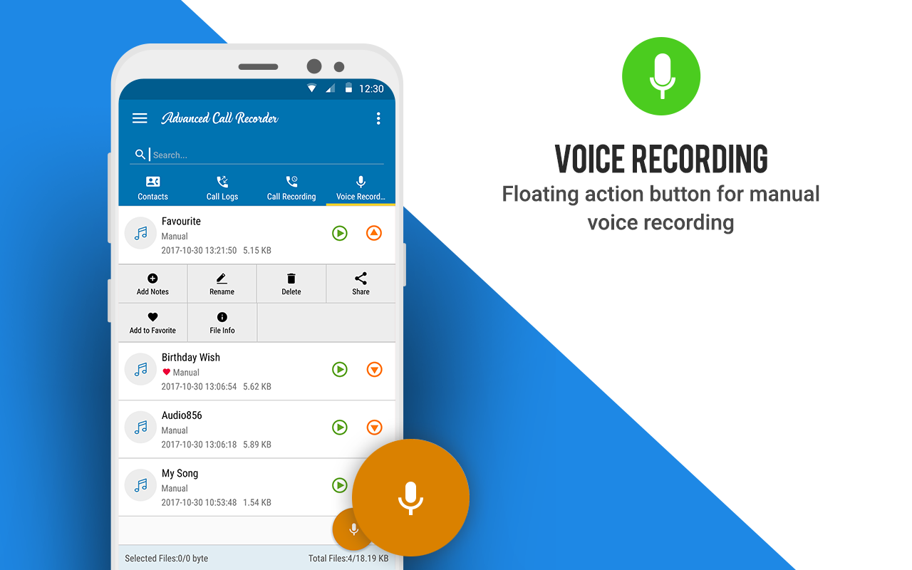 Advanced Call Recorder- screenshot