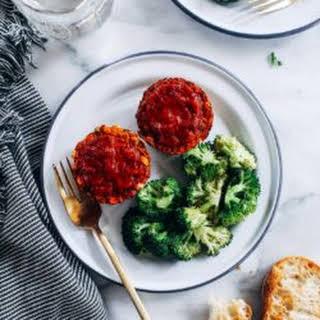 Vegan Italian Meatloaf Cups.