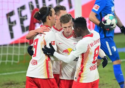 Leipzig s'impose et consolide sa place de leader