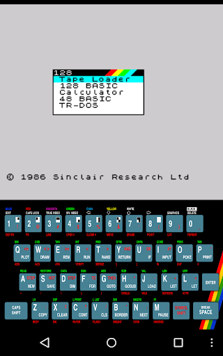 USP - ZX Spectrum Emulator 0.0.86.14 screenshots 8