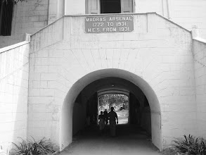 Photo: Madras Arsenal ( Palce were arms & ammunition stored ). Inside fort St.George.