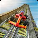 Mega Ramp Stunts - Impossible Car Racing Tracks 3D icon