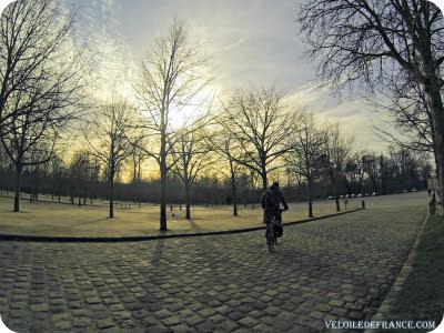le vélo en hiver