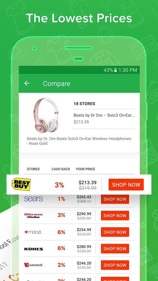 Ebates: Save Money with Coupons, Deals & Cash Back- screenshot