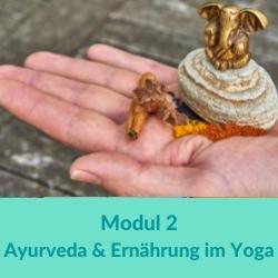 100 h Yogaübungsleiter Ayurveda, Ernährung