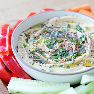 Hummus With White Miso.