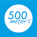 500meters icon