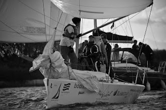 Photo: down wind course near spectators waiting for crew change  photo by Maria Gurieva
