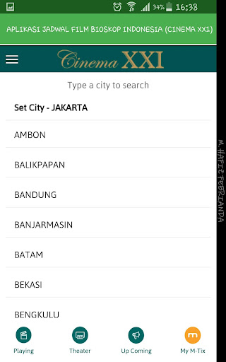 Aplikasi Jadwal Film Bioskop Indonesia 1.0 screenshots 12