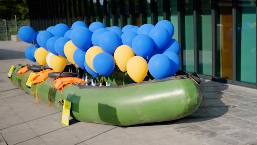 La Embarcación Exposición realizada en el Netherlands Forensic Institute (NFI) en La Haya, Holanda.