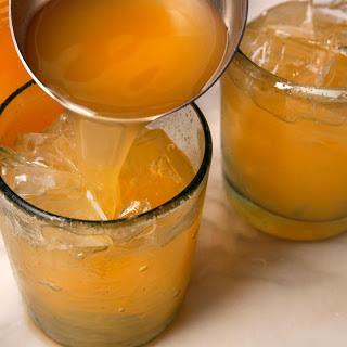 Cantaloupe Agua Fresca.