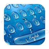 Water Drop Theme Keyboard