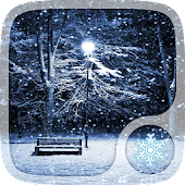 Winter Snowfall Wallpaper