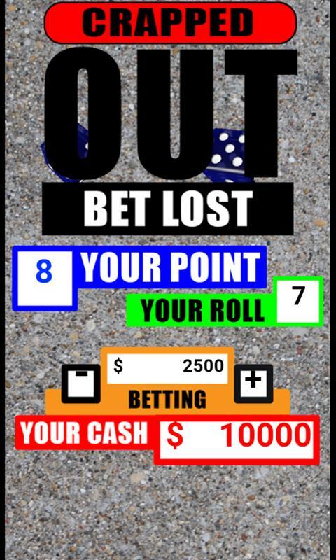 Street dice gambling rules