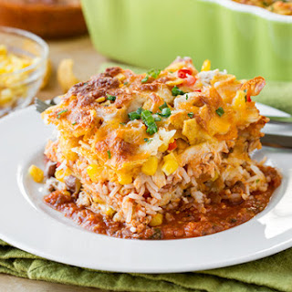 Chicken Tortilla Casserole With Black Beans Recipes