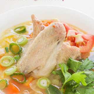 Chicken and Vegetables Soup Recipe